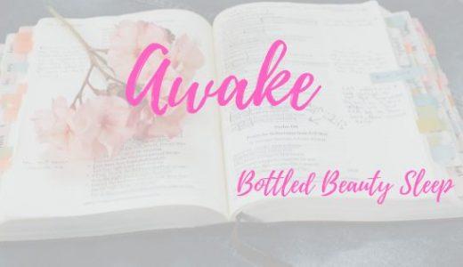 《Awake》アウェイクーー寝不足でも熟睡した朝の肌でいられるワンショット